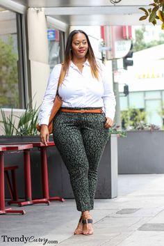 Trendy Curvy - Plus Size Fashion #slimmingbodyshapers Curvy Is the New Skinny | Plus Size Shapewear and Bras - Undergarments that fit! slimmingbodyshapers.com