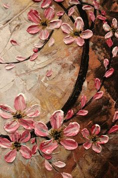 ** shades of Pink & brown