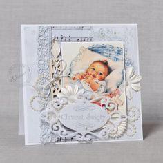 Boy Baptism Card - Scrapbook.com