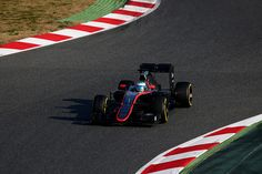 Fernando Alonso of Spain and McLaren Honda drives during day two of Formula One Winter Testing at Circuit de Catalunya on February 20, 2015 in Montmelo, Spain.