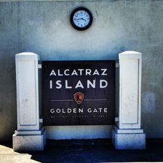 Alcatraz Island in San Francisco, CA