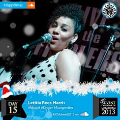 #Day15 is our girl #Singer #Songwriter #Solo #Artist and #Backing #Vocalist #BV Letitia!!! #Music #TeamJiggy #Model #Christmas