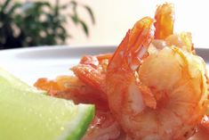 Fokhagymás garnéla Honeydew, Cantaloupe, Shrimp, Meat, Fruit, Food, Recipes, Beef, The Fruit