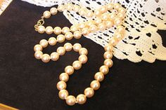 For The Bride ...Vintage Kenneth Jay Lane Creamy White Pearls by frenchhen1, $58.00