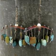 $150. Turquoise, sterling and copper: One of a kind!