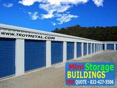 Mini Storage Buildings Plans | Self Storage Metal Buildings For Mini  Warehouse Business | Self Storage | Pinterest | Storage Building Plans, ...