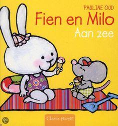 Fien en Milo aan zee - Pauline Oud