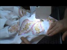 Video in four parts that show how to embellish a horse show jacket.