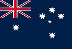 Bandera de Australia para la venta.