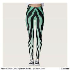 Pattern Cute Cool Stylish Chic Elegant Unique Leggings
