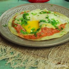 Give your morning the kick it needs with Huevos Rancheros.