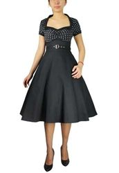 $89 Pin Up Dresses! Full skirt misses and plus size pin up dresses!