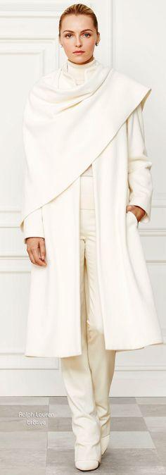 Ralph Lauren Wool-Blend Marielle Coat