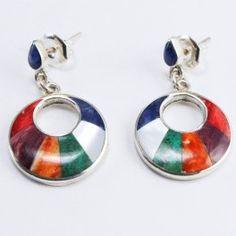 ARO LUNAR Metal Jewelry, Black Silver, Jewerly, Enamel, Drop Earrings, My Style, Accessories, Enamels, Enamel Jewelry