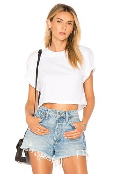 Shop for stunning Designer Tops for Women at REVOLVE CLOTHING. Find stylish Blouses, Button Downs, Tanks, Tees, Long & Short Sleeve tops & more from top brands! Stylish Outfits, Cool Outfits, Fashion Outfits, Girly Outfits, Fashion Ideas, Fashion Clothes, Fashion Inspiration, Tee Courts, Revolve Clothing