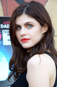 """Actress Alexandra Daddario attends special advance screening of Joe Dante's """"Burying The Ex"""" at American Cinematheque's Egyptian Theatre on June 2015 in Hollywood, California. Beautiful Celebrities, Beautiful Actresses, Female Celebrities, Gorgeous Eyes, Most Beautiful, Alexandra Anna Daddario, Beauty Full Girl, Hollywood Actresses, Pretty Face"""