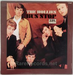 """The Hollies - Bus Stop (Imperial; 1966) Mono copies of this 1966 LP are worth finding because the stereo pressings are in """"fake"""" stereo.  The copy shown is still sealed. #records #albums #vinyl  Click here to learn more about this record:  http://www.rarerecords.net/store/hollies-bus-stop-sealed-mono-1966-u-s-lp/"""