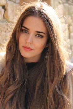 Spanish Model Clara Alonso hair + makeup ♥
