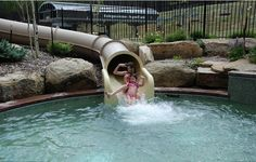 Having fun with the slide, summer 2011. — at Grand Lodge on Peak 7. Submitted by Paul J. Peterson, Olathe, Kansas