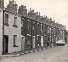 Astley Bridge - Hugh Lupus Street 4 Bolton Lancashire, Industrial Architecture, Old Town, Street Photography, Monochrome, Terrace, Nostalgia, Bridge, The Past