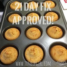 Toneupgirl | Cornbread - 21 Day Fix Approved!