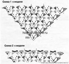 516 beste afbeeldingen van Crochet: Diagrams shawls in