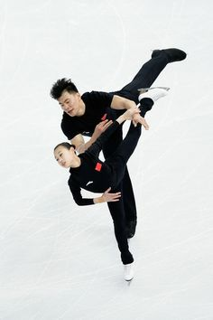 Hao Zhang and Cheng Peng - Winter Olympics Press Conference