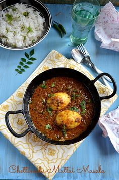 Today's recipe is a finger licking and spicy egg curry with flavorful spices.This curry goes very well with rice and roti as well. Veg Recipes, Curry Recipes, Vegetarian Recipes, Chicken Recipes, Cooking Recipes, Recipies, Spicy Recipes, Kitchen Recipes, Healthy Recipes