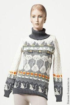 pullover estonian livemaster knitted