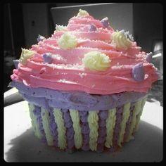 Giant cupcake!