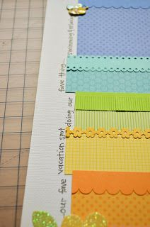 Pretty layered borders [Doodlebug Design Inc Blog: Tuesday Tutorial: Scrapbook Trends Scraplift + Giveaway]