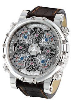 Quadra White Gold часы Jacob & Co Napoleon