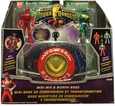 Amazon.com : Power Ranger Mighty Morphin Mini Mix and Morph base : Miniature Toy Figures : Toys & Games