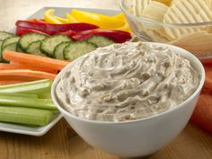 Lipton Onion Dip - 2 ingredients away from snacking heaven! http://www.yummly.com/recipe/Lipton-onion-dip-303916