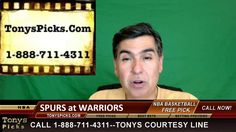 San Antonio Spurs vs. Golden St Warriors Pick Prediction NBA Pro Basketb...