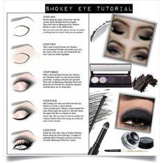 smokey eye..#makeup #beauty #contest #polyvore