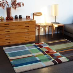We are so excited to be launching our first capsule collection of rugs. These will feature at trade shows over the next few months, then soon they will be available to order through the #wallacesewell online shop and at a variety of our stockist. #rugs #interiordesign #design #handmade #wool #interior #homedecor #colour #block #bauhaus #colourpop #launch #newcollection #firstcollection #wallacesewell25