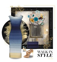 """Walk In Style"" by dop37 on Polyvore featuring Karen Hale, Artisan House, Hervé Léger, John Lewis and Marco Bicego"