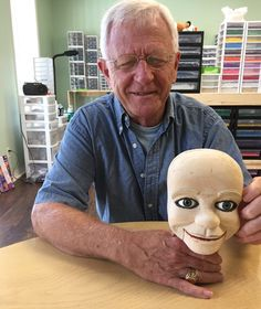 Ventriloquist Puppets carved from wood.  Read about it and learn more.  Is this a rare form of folk art?