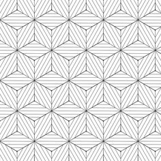Papel de Parede Autocolante 3D Geométrico Branco e Preto 237661555
