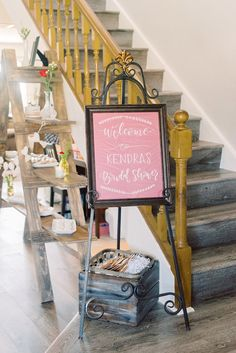 rustic bridal shower-Lovely Light Imagery-Glamour & Grace My Bridal Shower, Bridal Shower Rustic, Flower Studio, Modern Calligraphy, Etiquette, Photo Booth, Event Planning, Ladder Decor, Signage