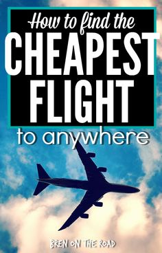 Need to find a cheap flight? This guide teaches you EVERYTHING. How to search, how to book, secret hacks and techniques, how to find deals, best times to book, best times to fly, and more more more. Awesome.