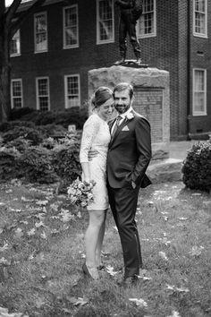 Courthouse wedding and really nice honeymoon...hmmm sounds nice :)