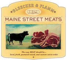 Main Street Meats logo... Función Connotativa