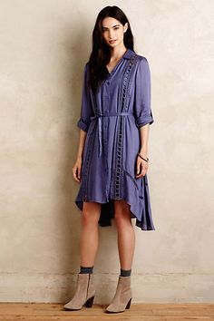 Liet Shirtdress by Vanessa Virginia at #anthropologie  $150 Reg. $80 Sale