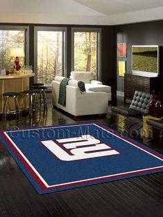 Custom-Mats by Gallant | Custom Mats - NY Giants - New York Giants NFL Spirit Rug -