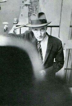William Burroughs by Brion Gysin
