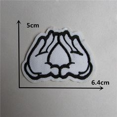 hot sale 16 kind of style select hot melt adhesive applique embroidery patch DIY clothing accessory patch 1pcs sell