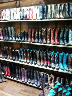 Cowgirl Boot Heaven!!! Mavericks of Santa Fe.