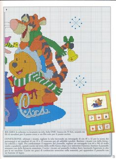 Gallery.ru / Фото #93 - punto cros Disney - sweetCrossStitching